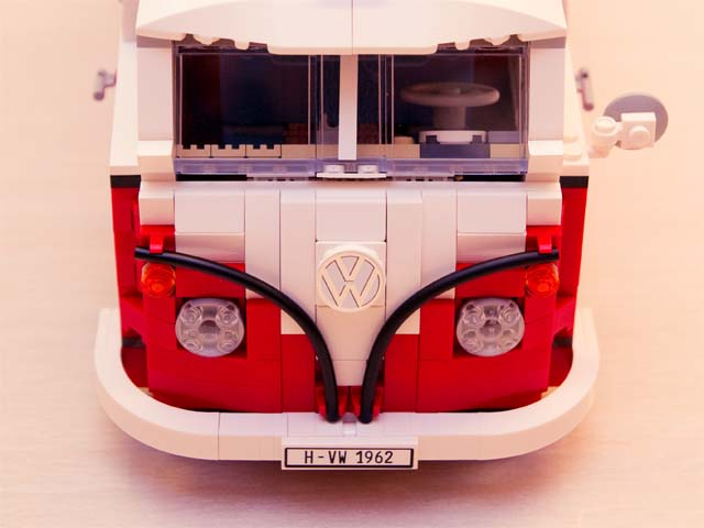 Brick Fun with Lego Volkswagen T1 Camper Van
