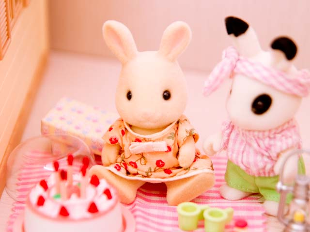 My Little Sylvanian Families Collection